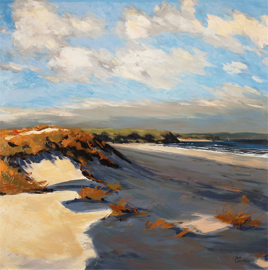 Paul Lancaster, Original oil painting on panel, Sea Breeze No frame image. Click to enlarge