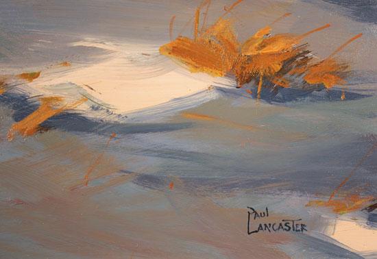 Paul Lancaster, Original oil painting on panel, Sea Breeze Signature image. Click to enlarge
