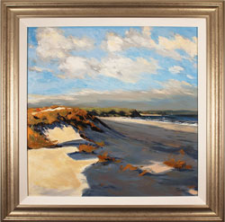 Paul Lancaster, Original oil painting on panel, Sea Breeze