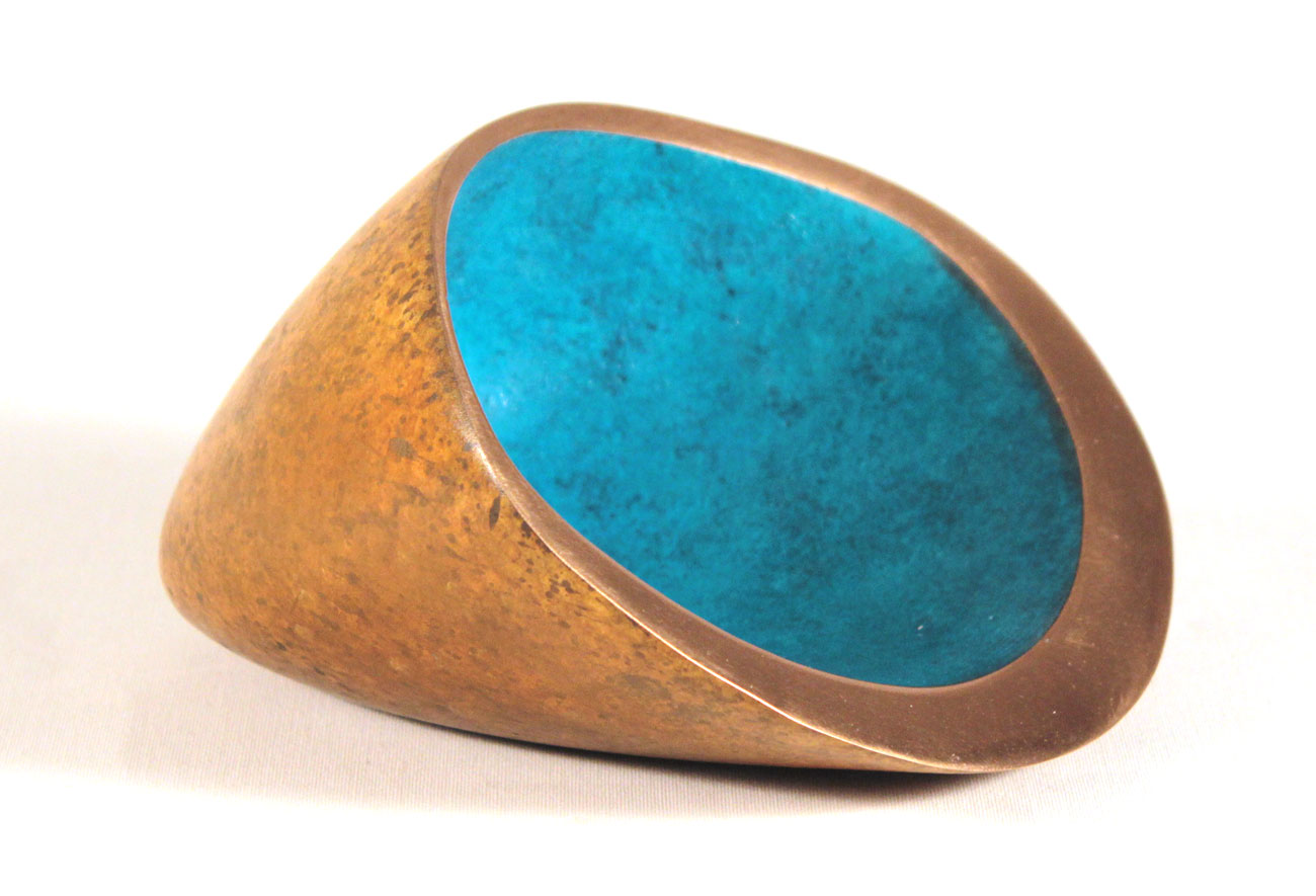 Philip Hearsey, Bronze, Cornish Switchback II Click to enlarge
