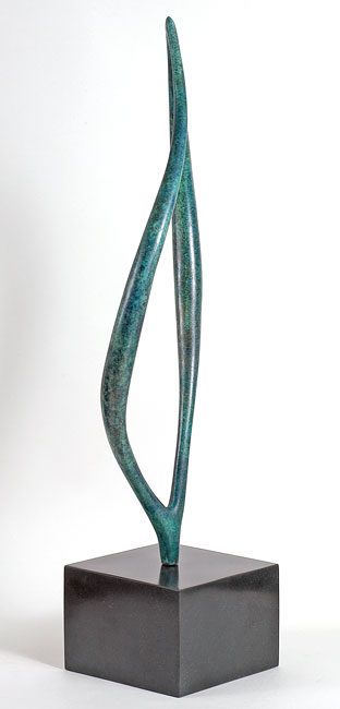 Philip Hearsey, Bronze, Hartland Tide Signature image. Click to enlarge