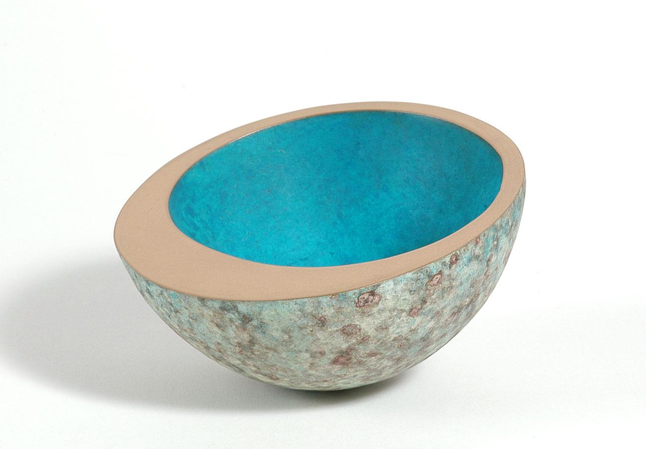 Philip Hearsey, Bronze, Lunar Rollerbowl Click to enlarge