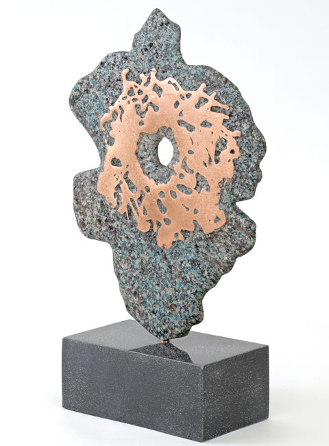 Philip Hearsey, Bronze, Visit No frame image. Click to enlarge