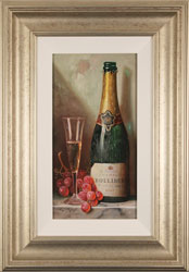 Raymond Campbell, Bollinger Bounty, Original oil painting on panel