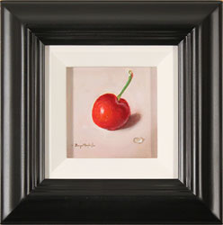 Raymond Campbell, Original oil painting on panel, Cherry