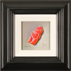 Raymond Campbell, Original oil painting on panel, Jelly Baby Medium image. Click to enlarge