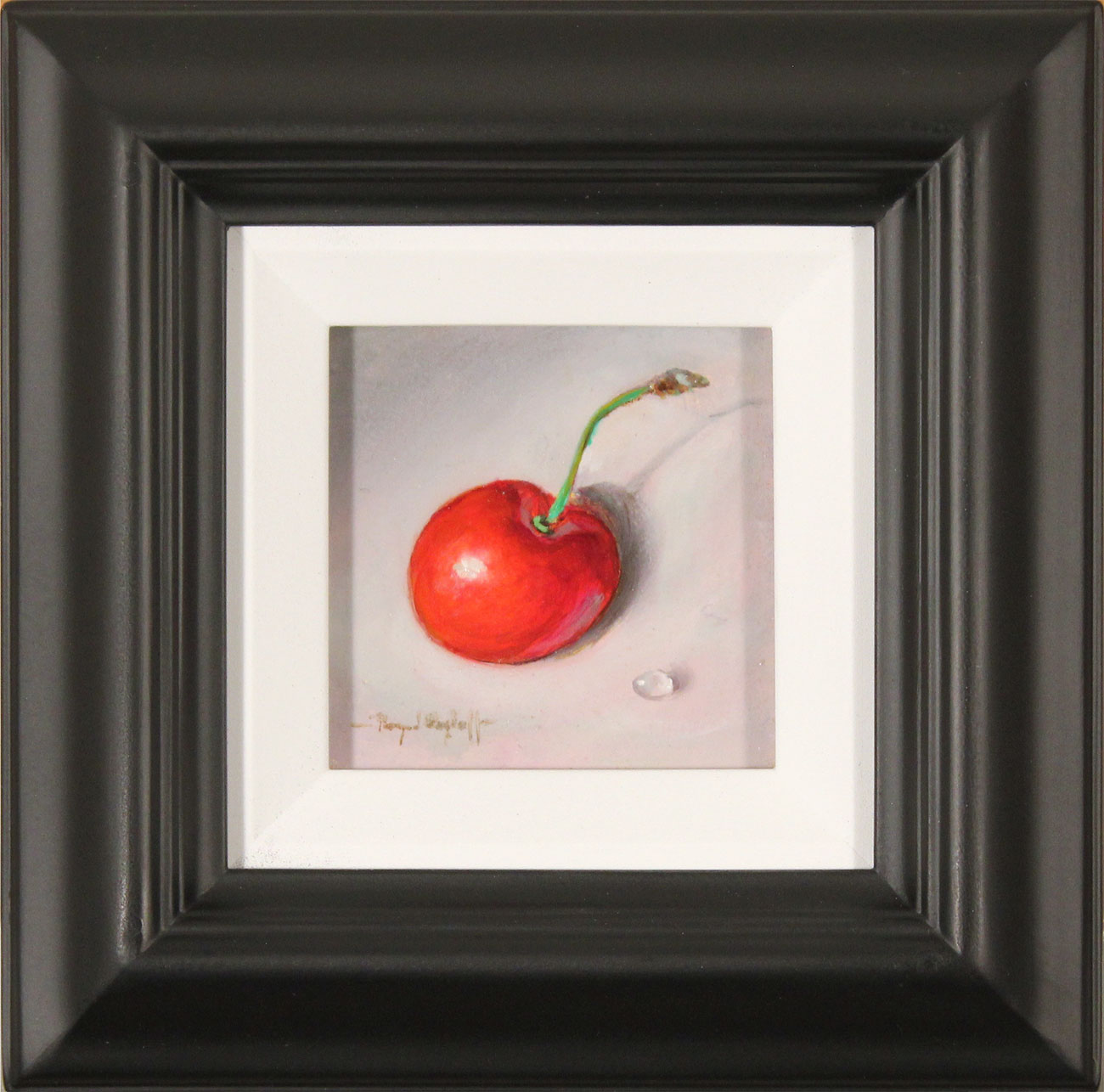 Raymond Campbell, Original oil painting on panel, Cherry Click to enlarge