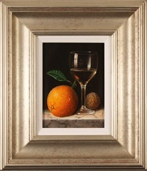 Raymond Campbell, Original oil painting on panel, Notes of Citrus
