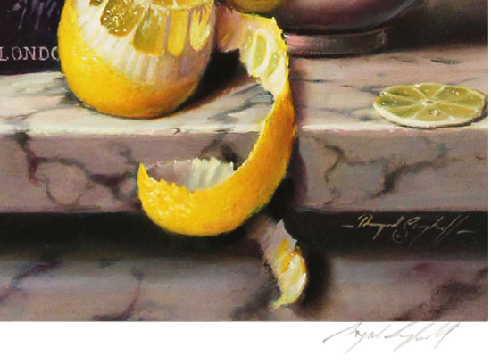 Raymond Campbell, Signed limited edition print, Local Botanicals  Signature image. Click to enlarge