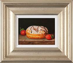 Raymond Campbell, Original oil painting on panel, Sweet Treat  Medium image. Click to enlarge