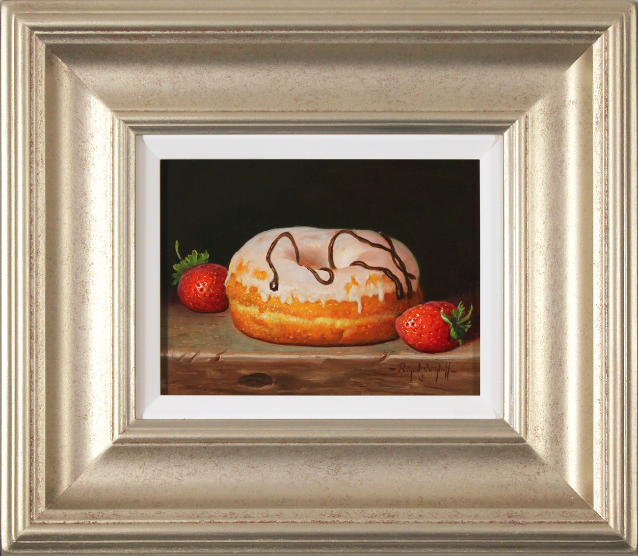 Raymond Campbell, Original oil painting on panel, Sweet Treat  Click to enlarge