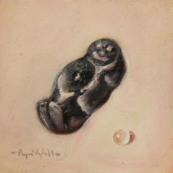 Raymond Campbell, Original oil painting on panel, Jelly Baby No frame image. Click to enlarge