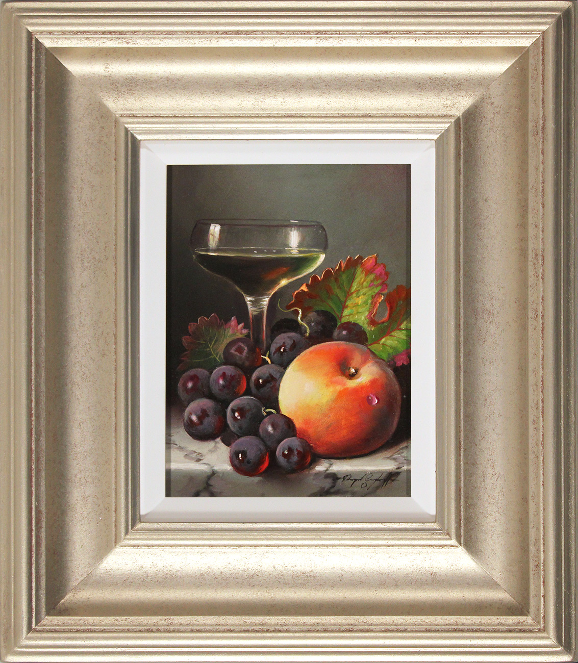 Raymond Campbell, Original oil painting on panel, A Delicate Finish Click to enlarge