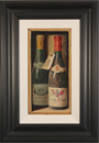 Raymond Campbell, Original oil painting on panel, Corton Grand Cru, 1989