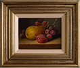 Raymond Campbell, Original oil painting on panel, Still Life