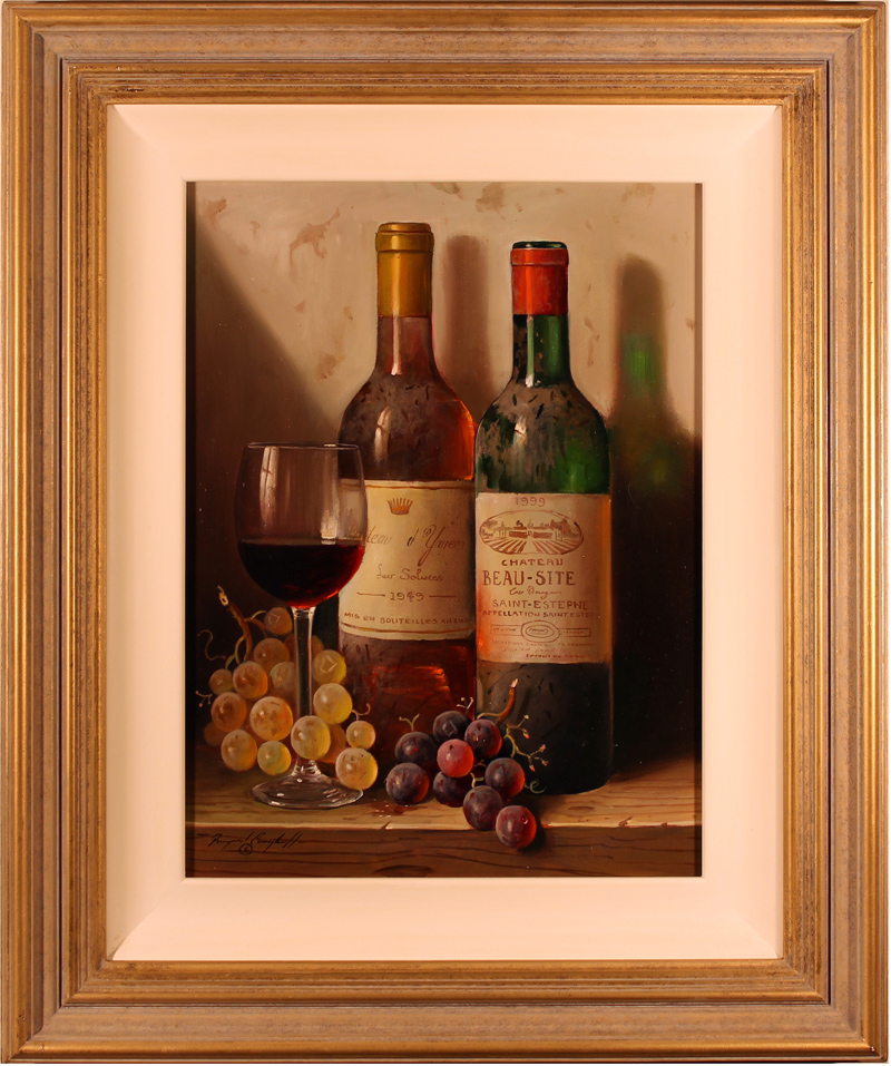 Raymond Campbell, Original oil painting on panel, A Dusty Inheritance Click to enlarge