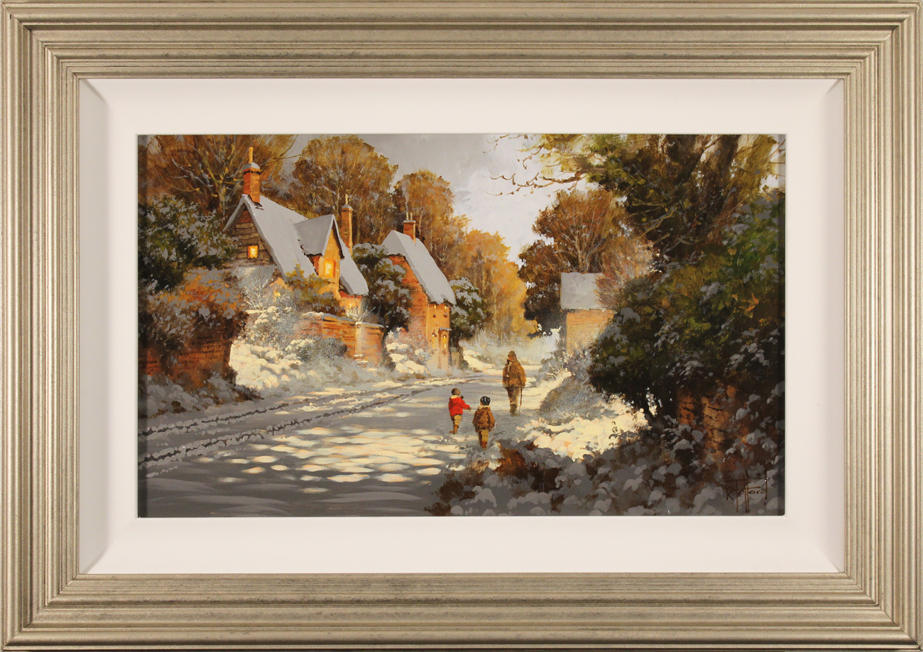 Richard Telford, Original oil painting on panel, Wait for Me! Click to enlarge