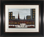 Sean Durkin, Original oil painting on panel, The Town Centre