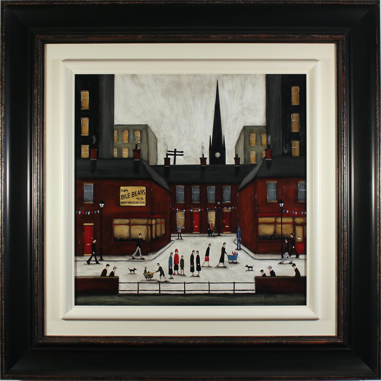 Sean Durkin, Original oil painting on panel, Yorkshire Jubilee Click to enlarge