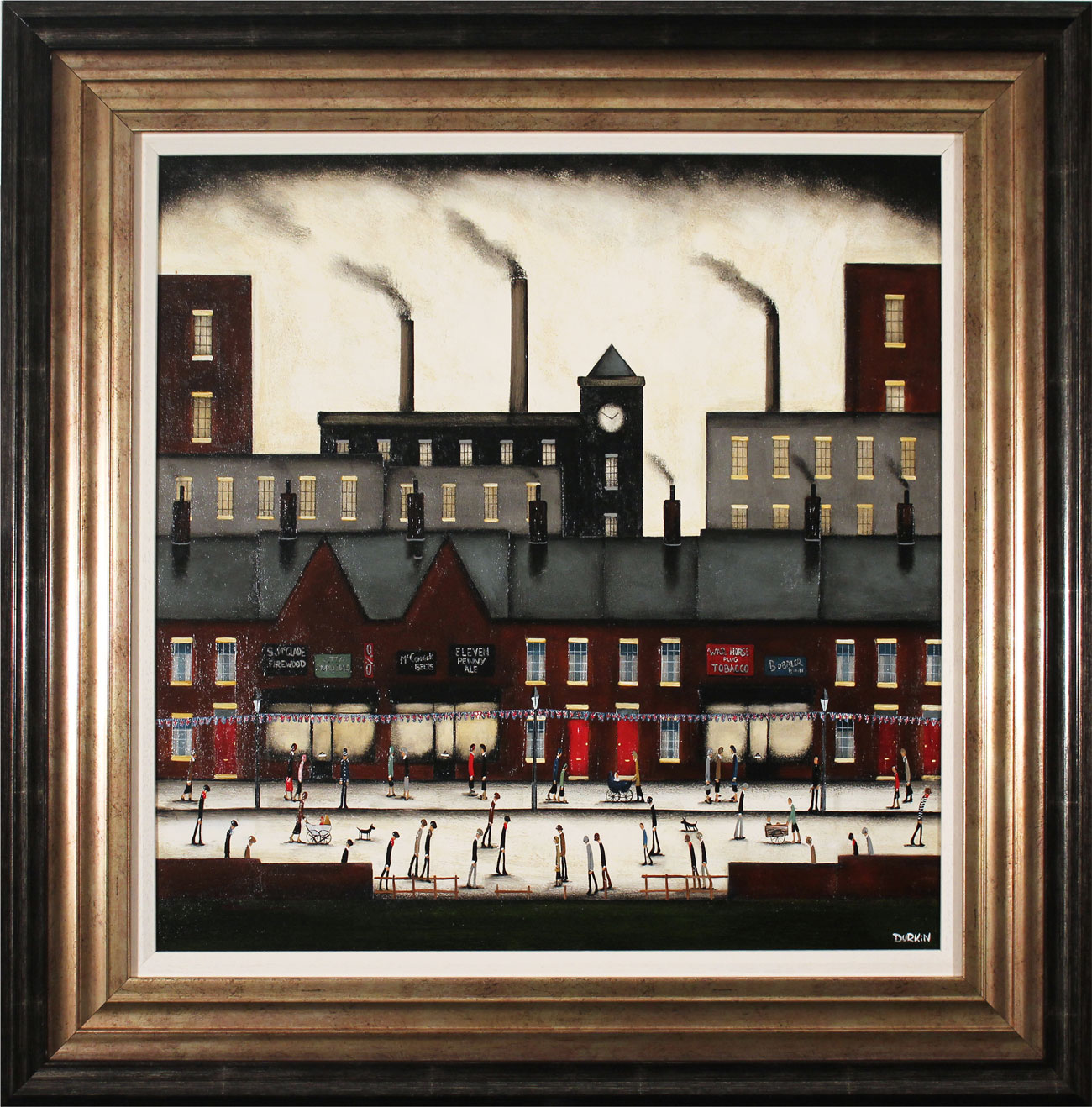 Sean Durkin, Original oil painting on panel, Northern Industry Click to enlarge