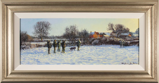 Stephen Hawkins, Original oil painting on canvas, Winter Morning Click to enlarge