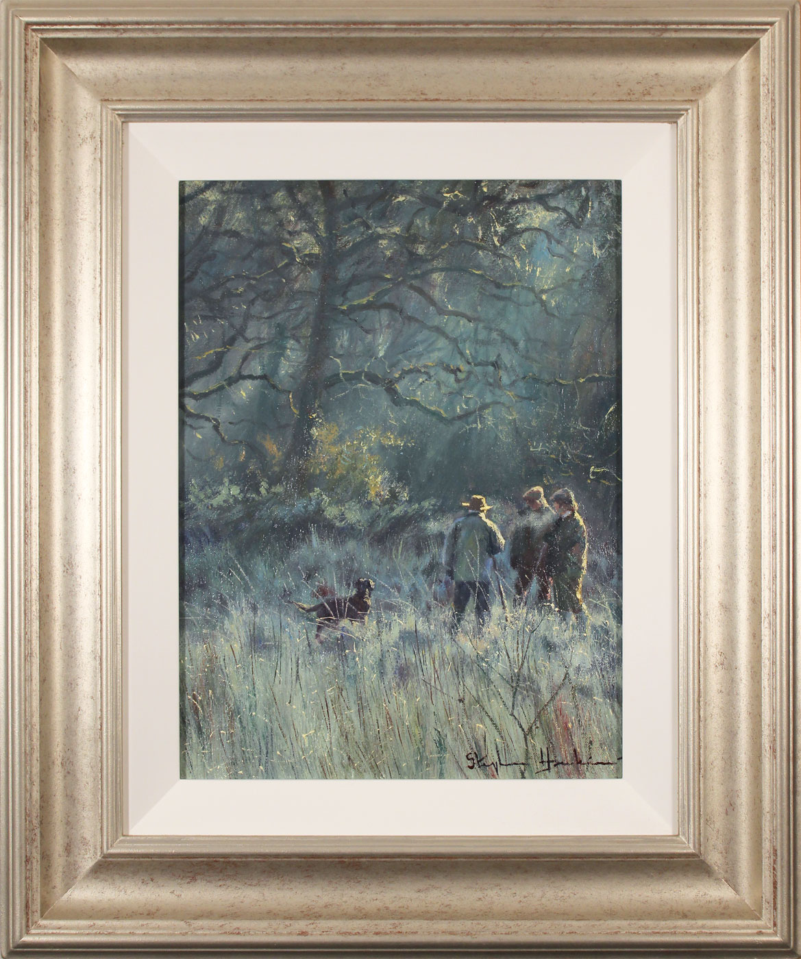 Stephen Hawkins, Original oil painting on canvas, Brisk Morning Click to enlarge