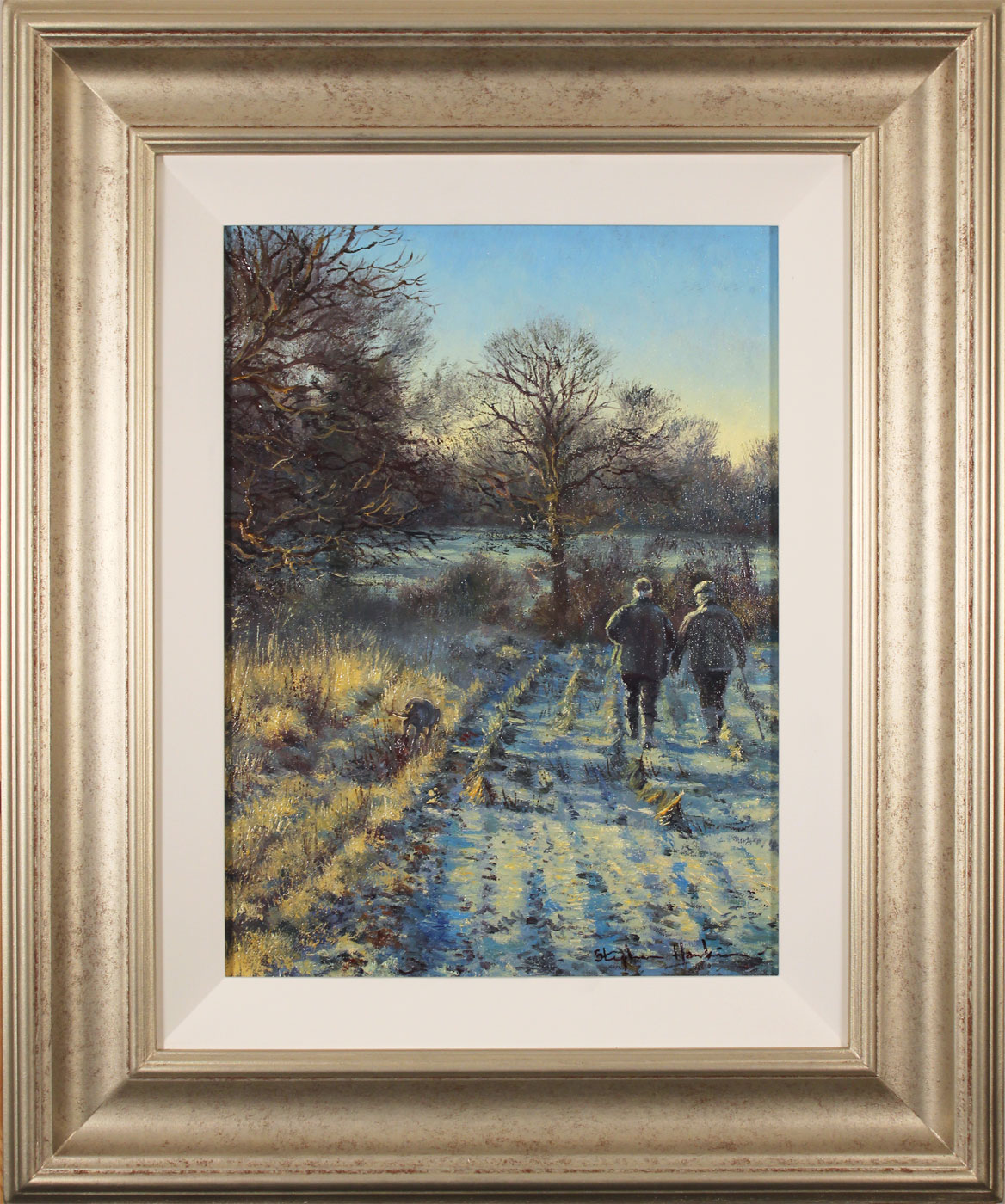 Stephen Hawkins, Original oil painting on canvas, First Frost Click to enlarge