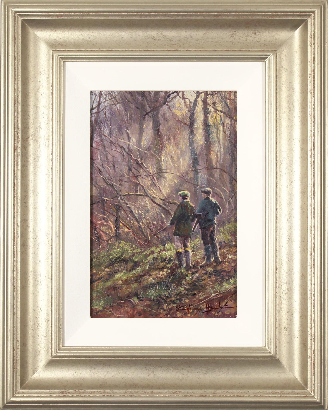 Stephen Hawkins, Original oil painting on panel, Daybreak Drive  Click to enlarge