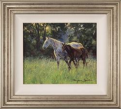 Stephen Hawkins, Original oil painting on panel, New Beginnings   Medium image. Click to enlarge