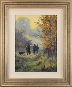 Stephen Hawkins, Original oil painting on panel, Country Pursuits