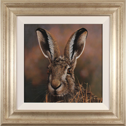 Stephen Park, Original oil painting on panel, The Hare