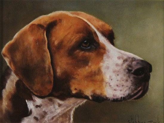 Stephen Park, Original oil painting on panel, Rosie No frame image. Click to enlarge