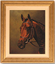 Stephen Park, Original oil painting on canvas, Race Horse Medium image. Click to enlarge