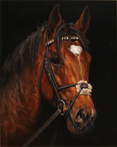 Stephen Park, Original oil painting on panel, Frankel No frame image. Click to enlarge