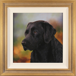 Stephen Park, Original oil painting on panel, Man's Best Friend