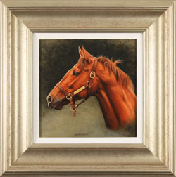 Stuart Herod, Original oil painting on panel, Secretariat