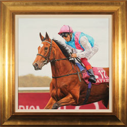 Stuart Herod, Original oil painting on canvas, Enable