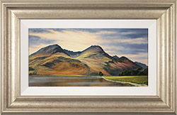 Suzie Emery, Original acrylic painting on board, High Stile, Buttermere