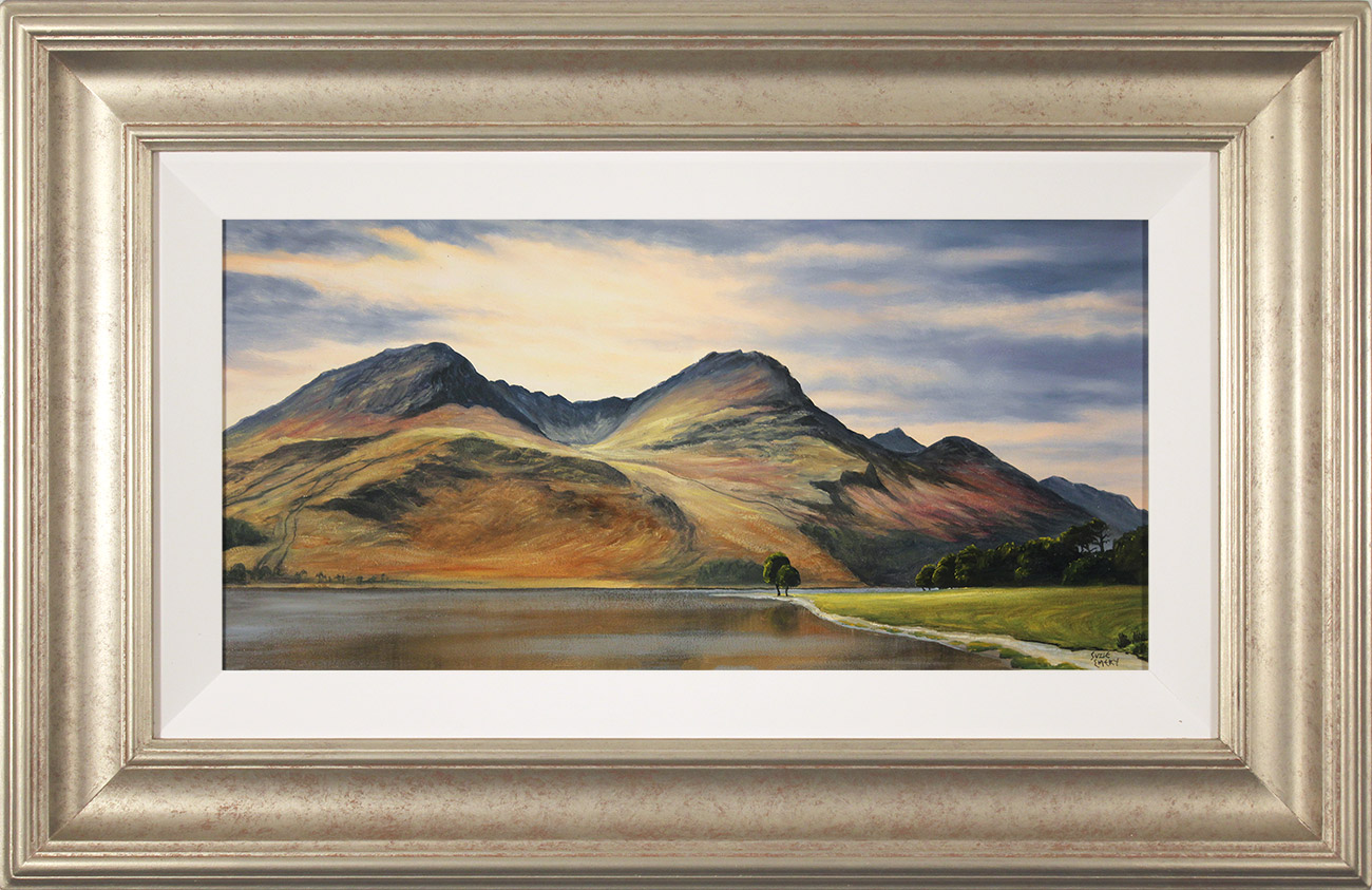 Suzie Emery, Original acrylic painting on board, High Stile, Buttermere  Click to enlarge