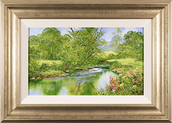 Terry Evans, Original oil painting on canvas, Spring Returns