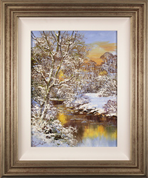 Terry Evans, Original oil painting on canvas, Winter Wood