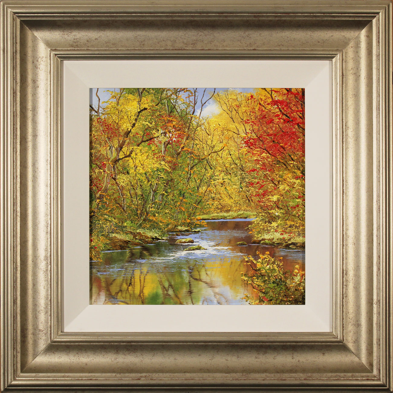 Terry Evans, Original oil painting on canvas, Autumn Gold Click to enlarge