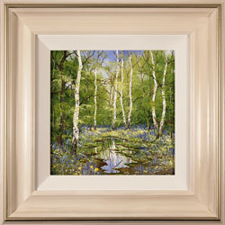 Terry Evans, Original oil painting on panel, Forgotten Forest Medium image. Click to enlarge