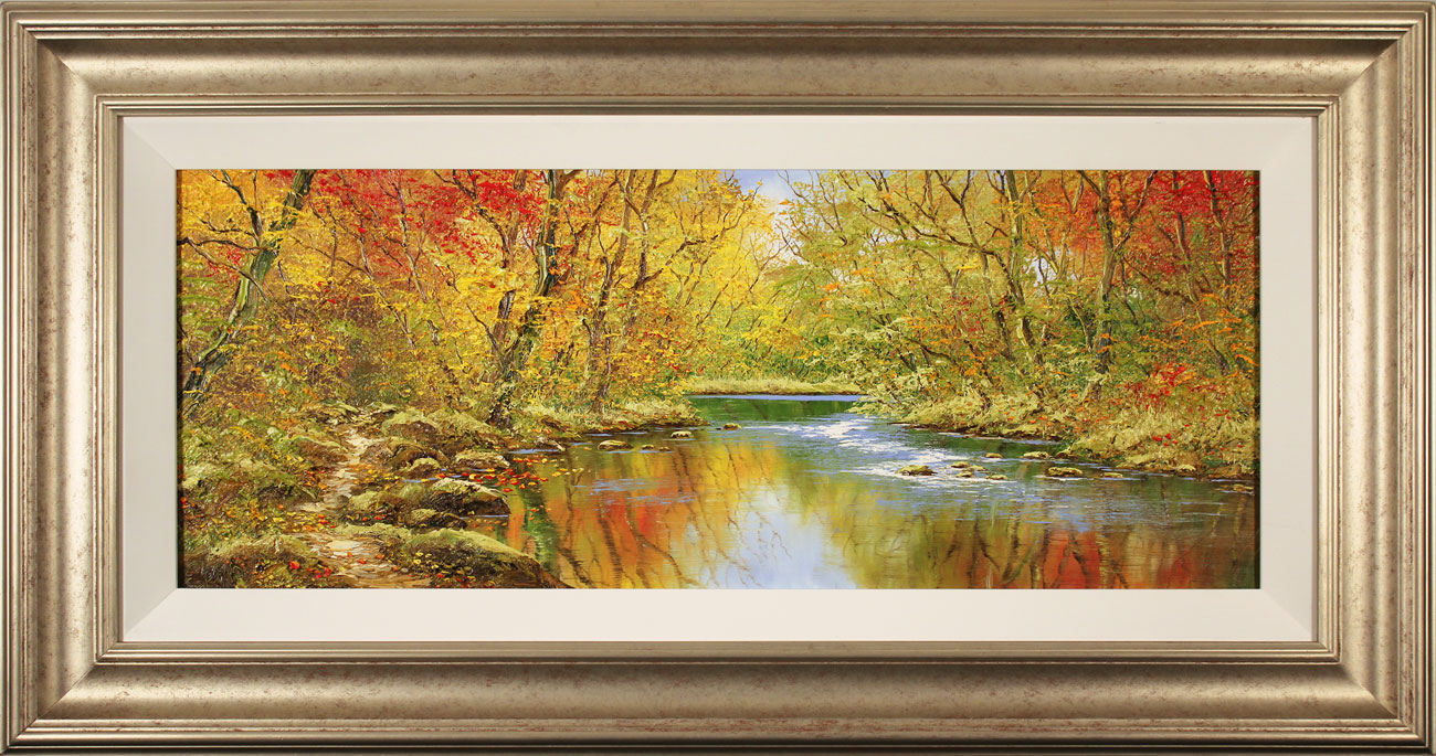 Terry Evans, Original oil painting on canvas, Autumn Wood Click to enlarge