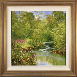 Terry Evans, Original oil painting on canvas, Summer Wood