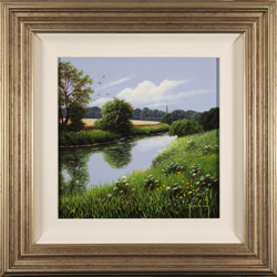Terry Grundy, Original oil painting on panel, High Summer