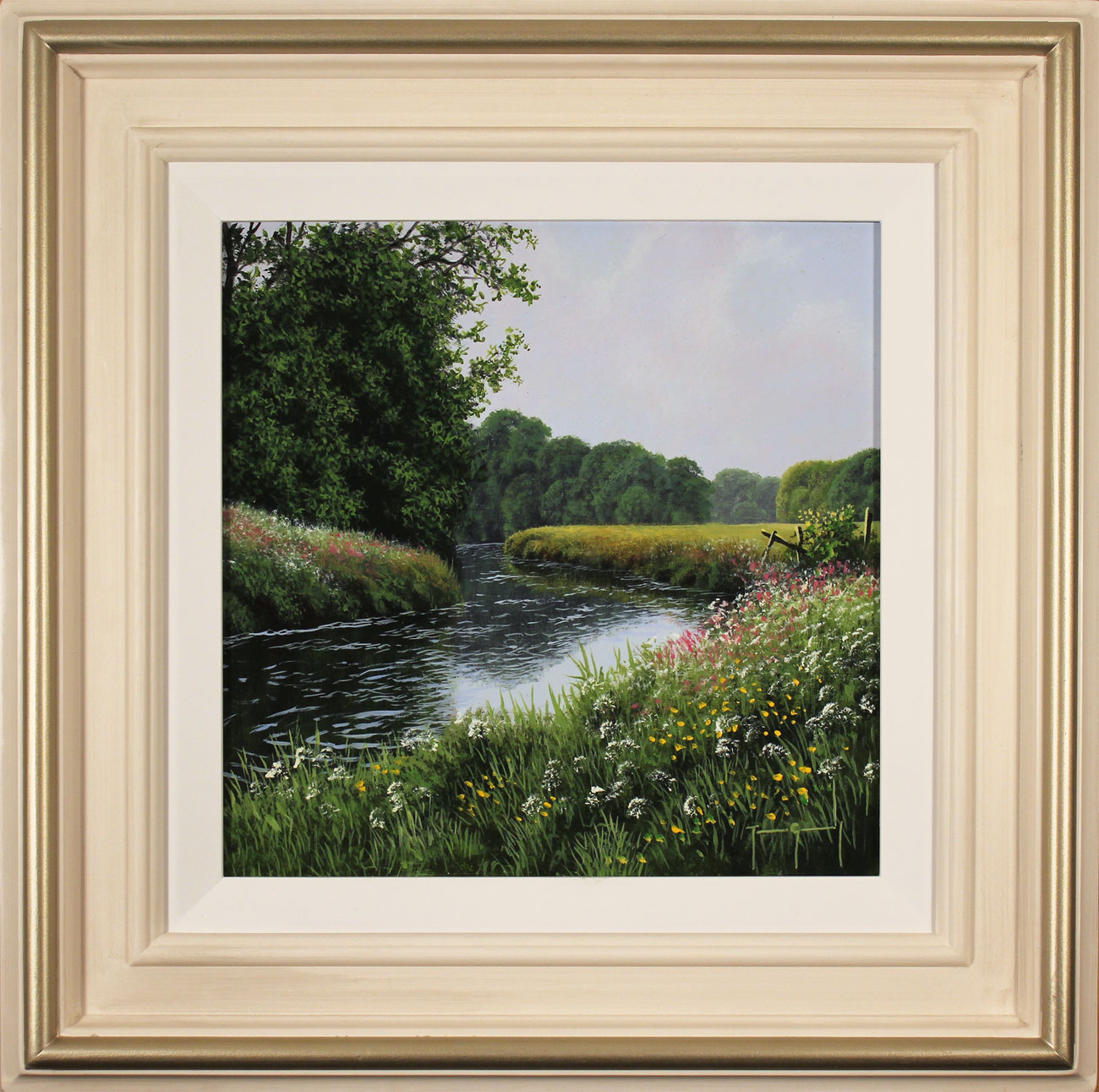 Terry Grundy, Original oil painting on panel, High Summer Click to enlarge