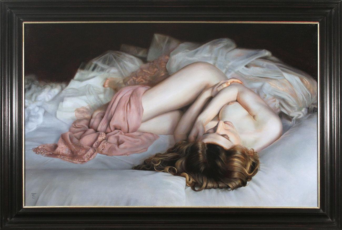 Tina Spratt, Original oil painting on canvas, Dream Seeker Click to enlarge