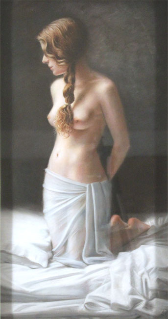 Tina Spratt, Pastel, Ode to Wyeth No frame image. Click to enlarge