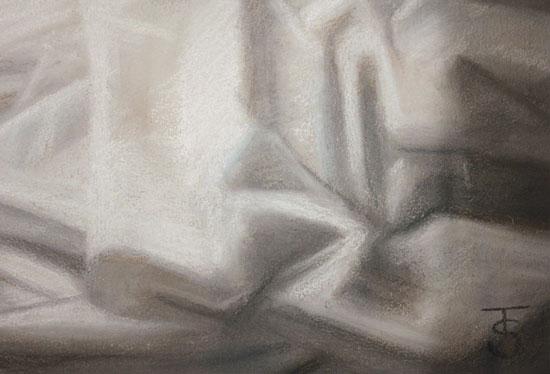 Tina Spratt, Pastel, Ode to Wyeth Signature image. Click to enlarge